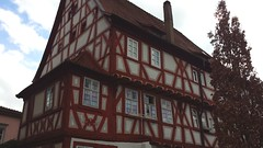 Timber (rocknrolltheke) Tags: house building architecture germany deutschland haus architektur gebude halftimbered fachwerk timbered fachwerkhaus badenwrttemberg eberbach sddeutschland southerngermany eberbachamneckar