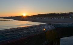 sunrise graal-mritz (jakobstitz) Tags: sea sunrise germany deutschland nikon baltic sonnenaufgang ostsee wassertropfen tropfen mritz seebrcke graal graalmritz d5100