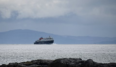 MV Clansman arriving at Scarinish Tiree (Russardo) Tags: ferry scotland mac cal calmac mv caledonian macbrayne clansman