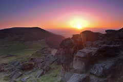 Shooting into the sun at the Wainstones. (paul downing) Tags: sunset nikon 12 filters hitech clevelandhills wainstones northyorkshiremoors gnd photomatix pd1001 greatbroughton pauldowning d7200 pauldowningphotography