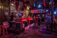 Catching the night (karinavera) Tags: life street city travel people urban bar night dancing neworleans band orchestra nola bourbon stylelife nikond5300