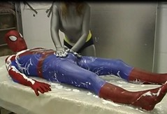 gootrap5 (Spandxcomics) Tags: spiderman superhero spandex lycra superheroine