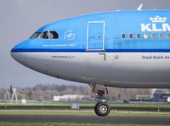 PH-AOC (Niels Aarts Aviation Photography) Tags: aircraft off airbus take schiphol a330 vliegtuig airbusa330 polderbaan phaoc