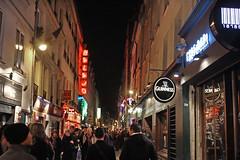 Nouvelles Annees de Veille (skipmoore) Tags: signs paris night neon newyears