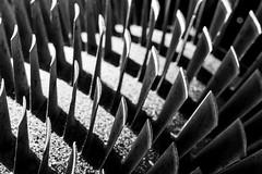 DSC_0100 (gemmaveronica) Tags: fan shadows steel curves engine dust turbine blades