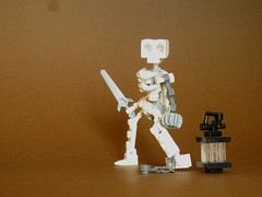 "Skeletal gladiator (Deus ""Big D."" Otiosus) Tags: urban skeleton dragon lego time library dragons dungeon adventure dd exploration skeletal dungeons dnd gladiator urbex moc at"