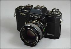 Yashica FX-1 (02) (Hans Kerensky) Tags: lens display electro 50 ml yashica 117 fx1