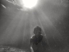Selfie, Under The Bright Sun, At The Bottom Of The Sea (photo-razzo) Tags: boy sea water asian asia southeastasia underwater child availablelight nationalgeographic selfie gopro blackedition flickraward goprohero3 discoveryphotos goprohero3blackedition