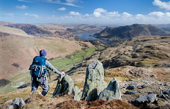 Ullswater View Selfie (Dave Massey Photography) Tags: place lakedistrict cumbria fells fell patterdale ullswater stsundaycrag grisedale