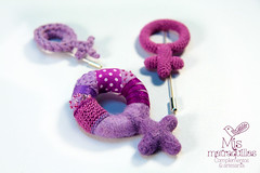 Broche (Mis Matraquillas) Tags: broche arte handmade brooch crochet moda frida mano feminism amigurumi ideas kahlo hecho feminismo inspiracin feminista ganchilo heforshe manuadidades