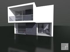 A mod (F_T 74) Tags: house black art home glass architecture mirror cool arquitectura arte render bianco architettura rendering architectuur arkkitehtuuri abitazione gianfabiotomasi
