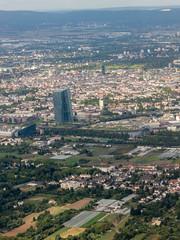 Kreta 2015 (Dominik Wittig) Tags: frankfurt luftaufnahme ezb anflug europischezentralbank grosmarkthalle