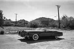 (0pton) Tags: film landscape desert trix convertible cadillac eldorado 35 1972 m6 summarit