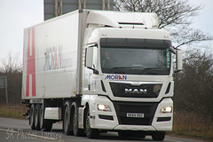 MAN Moran DE64 DDZ (SR Photos Torksey) Tags: road man truck transport lorry commercial vehicle moran freight logistics haulage hgv lgv