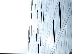 Sky and Building Merge (stephenbryan825) Tags: reflection glass contrast liverpool buildings graphic abstracts selects mannisland