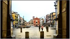 Padova - piazza Dondi dell'Orologio (gennaromignolo) Tags: italy italia turismo padova veneto viaggiare centristorici