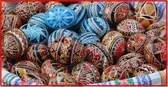 Happy (Orthodox) Easter ! - Easter painted eggs (Ioan BACIVAROV Photography) Tags: friends color art history beautiful wonderful easter interesting flickr religion egg traditions romania colourful orthodox popularart photostream romanian pasqua happyeaster froheostern buona paintedeggs felicespascuas wonderfulphoto pastefericit joyeusespaques ioanbacivarov bacivarov veryhappyeaster