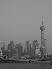Shanghai 2016 (hunbille) Tags: world china bridge tower skyline creek suzhou shanghai jin center mao pearl oriental financial jinmaotower orientalpearltower suzhoucreek hongkou waibaidu waibaidubridge shanghaitower shanghaiworldfinancialcenter