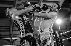 White Collar Boxing (sophie_merlo) Tags: blackandwhite bw monochrome sport mono action candid photojournalism documentary boxing photodocumentary
