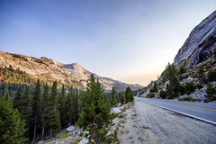 Road through Tioga Pass 2 (paulabarrickman) Tags: california park trees mountains landscape high pass national yosemite redwoods elevation tioga