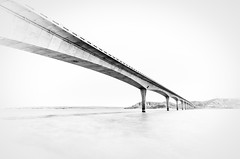 Four Bears Bridge 2.1 (Jack Lefor) Tags: bridge lake water nikon fineart minimal northdakota lakesakakawea nikond810 fourbearsbridge