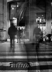 Evanescence people (Piero Tranchida) Tags: street people streetphotography crossroad palermo evanescence