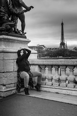 DSC_5512 (darghorn) Tags: white black paris dance noir iii pont alexandre et blanc danceuse