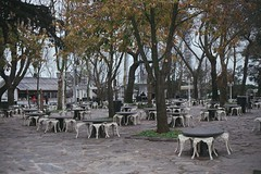 amlca, tebdili mekan (Begm Ylmaz) Tags: autumn winter green turkey cafe istanbul amlca
