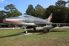 North American F-100C Super Sabre USAF 54-0954/SS (NTG's pictures) Tags: museum north super sabre american usaf eglin armament f100c afbusaf 541986 540954