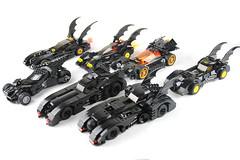 Lego Batmobile Collection (OneBadawan) Tags: lego collection batman 1989 custom batmobile brucewayne moc tumbler dawnofjustice batmanvsuperman