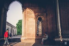 Delhi-19 (Expolre) Tags: india heritage history stone architecture vibrant delhi arches palace villages monuments towns qutub minar carvings minarets