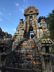 Tokyo DisneySea (jericl cat) Tags: disneysea river lost temple fire tokyo delta disney spirits mayan rollercoaster indianajones raging 2015