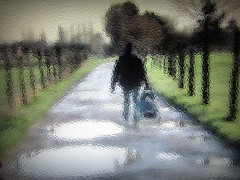 2016-01-29 Blurred countryside (7) (april-mo) Tags: blur experimental village path country blurred through puddles flou damp throughglass experimentalphotography flaques experimentalphoto flouartistique travers experimentaltechnique