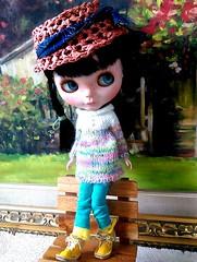 Blythe turtleneck knitting dress