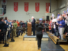 Bernie Sanders (John M Poltrack) Tags: politics indoor nh podium politicians bernie primary berniesanders freelthebern