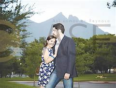 Laura Martínez y Edgar Rojas