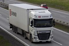 "Daf xf116 "" DB SCHENKER "" (PL) (magicv8m) Tags: transport trans lkw tir"