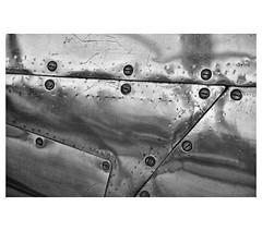 Steel Puzzle ( Wim ) Tags: screws zwartwit steel details scratches puzzle aluminium staal schroeven krassen nikond610 sigma24105art