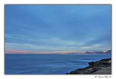 Seda desde el Cabo ( Marco Antonio Soler ) Tags: las blue sunset sea espaa seascape beach azul clouds de landscape atardecer mar spain cabo nikon san mediterranean mediterraneo juan playa paisaje iso alicante nubes 16 jpg atardeceres hdr waterscape huertas alacant 2016 d80