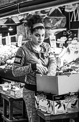 01-24-2015 Morning. Nice Vendor at Pike Place Market (vlad 54) Tags: green vegetables market pikeplace