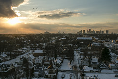 Columbus, Ohio (Rigsby'sUniquePhotography) Tags: winter columbus sunset ohio snow abandoned skyline canon photography downtown factory cityscape photographer historic explore urbanliving