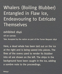 DUA_3689r JMW Turner 1845 Whalers Boiling Blubber Entangled in Flaw Ice Endeavouring to Extricate Themselves (crobart) Tags: ontario art ice set painting gallery free exhibit special ago turner flaw boiling whalers blubber entangled themselves 1845 jmw extricate endeavouring
