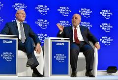 Securing the Middle East and North Africa: Tammam Saeb Salam, Haidar Al Abadi (World Economic Forum) Tags: switzerland am davos wef che session congresscentre worldeconomicforum annualmeeting congresscenter graubuenden as221 am2016 sessionid73316
