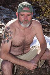 IMG_1108 (DesertHeatImages) Tags: bear gay shirtless hairy phoenix furry desert masculine cap lgbt dreamy draw