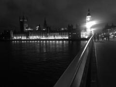 Big Ben London (rickarnah) Tags: urban blackandwhite london grunge bigben londoncity