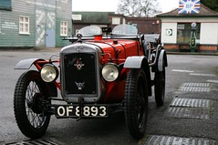 1931 Austin Seven Ulster (davocano) Tags: brooklands vintagesportscarclub vsccdrivingtests vsccbrooklands of8893