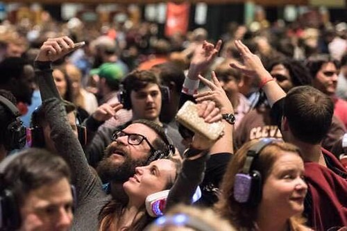 """Silent Storm powers The World Beer Fest silent disco once again in 2016 featuring DJ V • <a style=""""font-size:0.8em;"""" href=""""http://www.flickr.com/photos/33177077@N02/24509046141/"""" target=""""_blank"""">View on Flickr</a>"""
