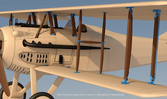 SPADXIII-WIP 98 (StratoArt) Tags: history 3d aircraft aviation military wwi cinema4d warbird biplane warplane spad xiii
