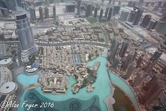 Top of Burj Khalifa (Alan Fryer) Tags: duba