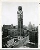 The Bromo Seltzer Clock Tower. Baltimore. 7/21/1953. (spacecadetsf) Tags: tower clock sign triangle baltimore collection company photograph bromo 1953 seltzer specialcollections box28 peale photoprints bclm baltimorecitylifemuseumcollection ftate 1982226